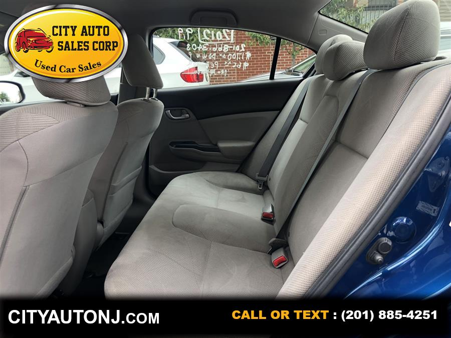 Used Honda Civic LX Sedan 4D 2012 | City Auto Sales Corp. Union City, New Jersey