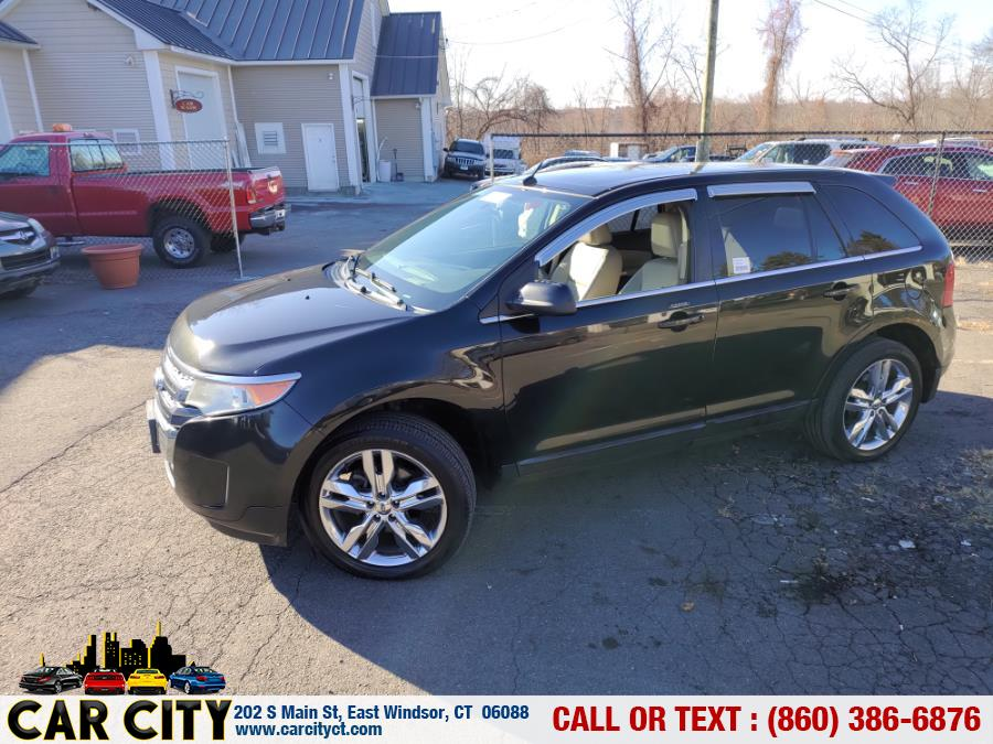 2011 Ford Edge 4dr Limited AWD, available for sale in East Windsor, Connecticut | Car City LLC. East Windsor, Connecticut