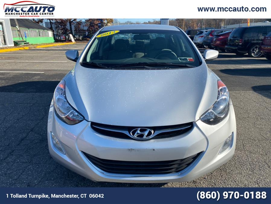 Used Hyundai Elantra 4dr Sdn Auto GLS PZEV 2013 | Manchester Car Center. Manchester, Connecticut