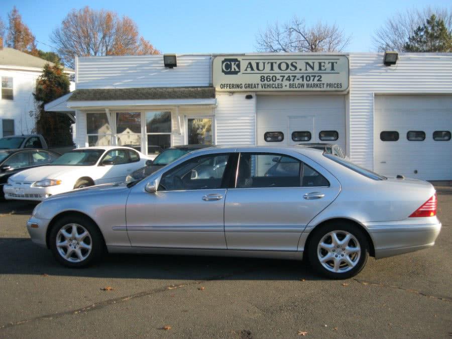 Used 2005 Mercedes-Benz S-Class in Plainville, Connecticut | CK Autos. Plainville, Connecticut