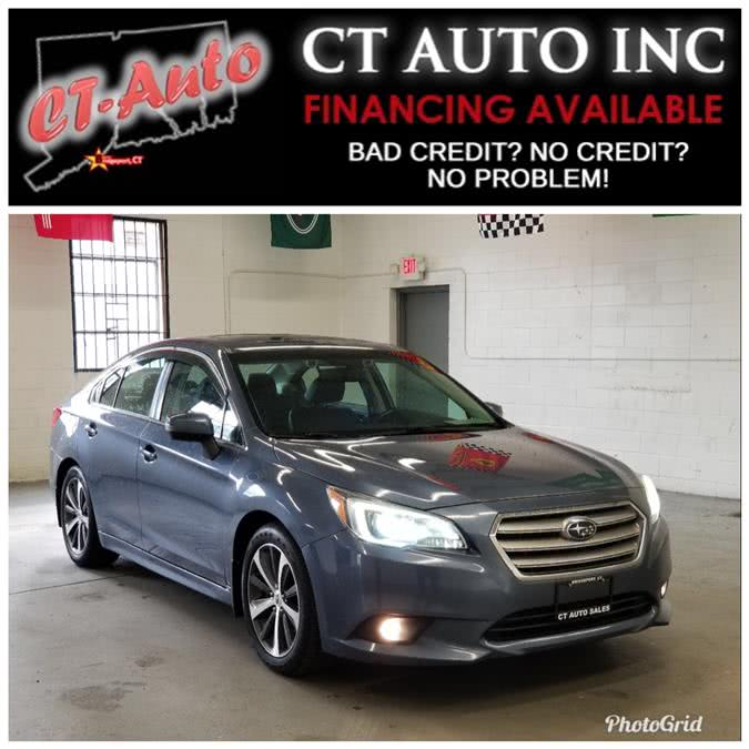 Used Subaru Legacy 4dr Sdn 3.6R Limited 2015 | CT Auto. Bridgeport, Connecticut