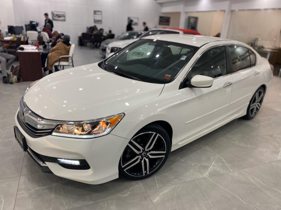2017 Honda Accord Sedan Sport SE CVT, available for sale in Franklin Square, New York | Luxury Motor Club. Franklin Square, New York