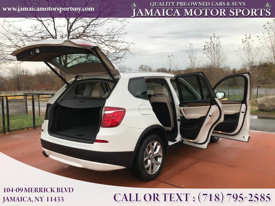 2013 BMW X3 AWD 4dr xDrive28i, available for sale in Jamaica, New York | Jamaica Motor Sports . Jamaica, New York