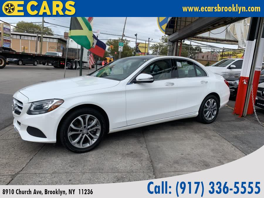 2016 Mercedes-benz C-class 4dr Sdn C 300 Sport 4MATIC, available for sale in Brooklyn, New York | E Cars . Brooklyn, New York
