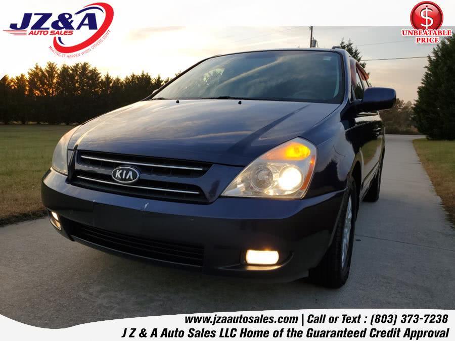 Used Kia Sedona 4dr Auto LX 2006 | J Z & A Auto Sales LLC. York, South Carolina