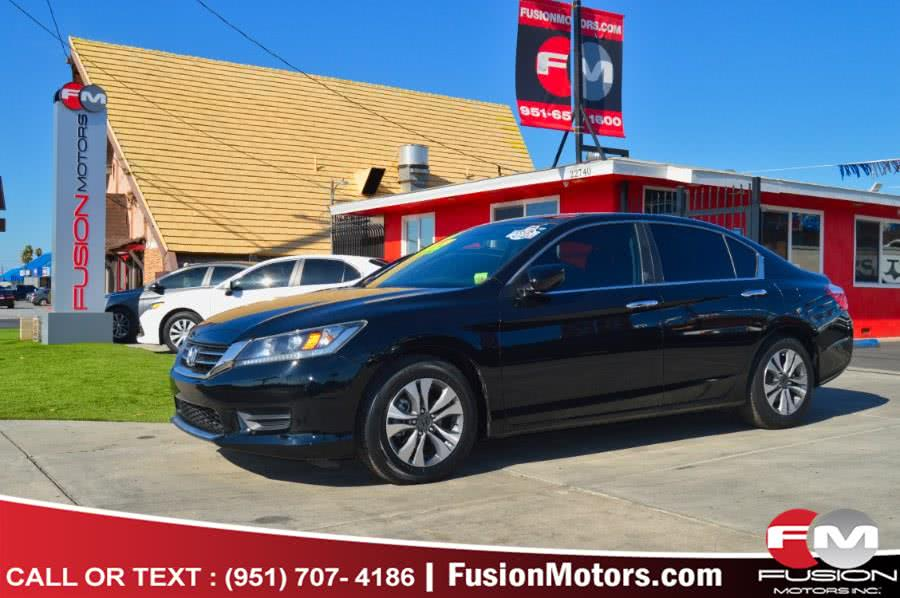 Used 2013 Honda Accord Sdn in Moreno Valley, California | Fusion Motors Inc. Moreno Valley, California