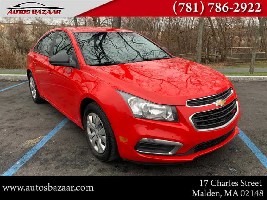 Used 2016 Chevrolet Cruze Limited in Malden, Massachusetts | Auto Bazaar. Malden, Massachusetts