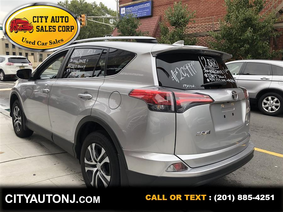 Used Toyota Rav4 LE Sport Utility 4D 2018   City Auto Sales Corp. Union City, New Jersey