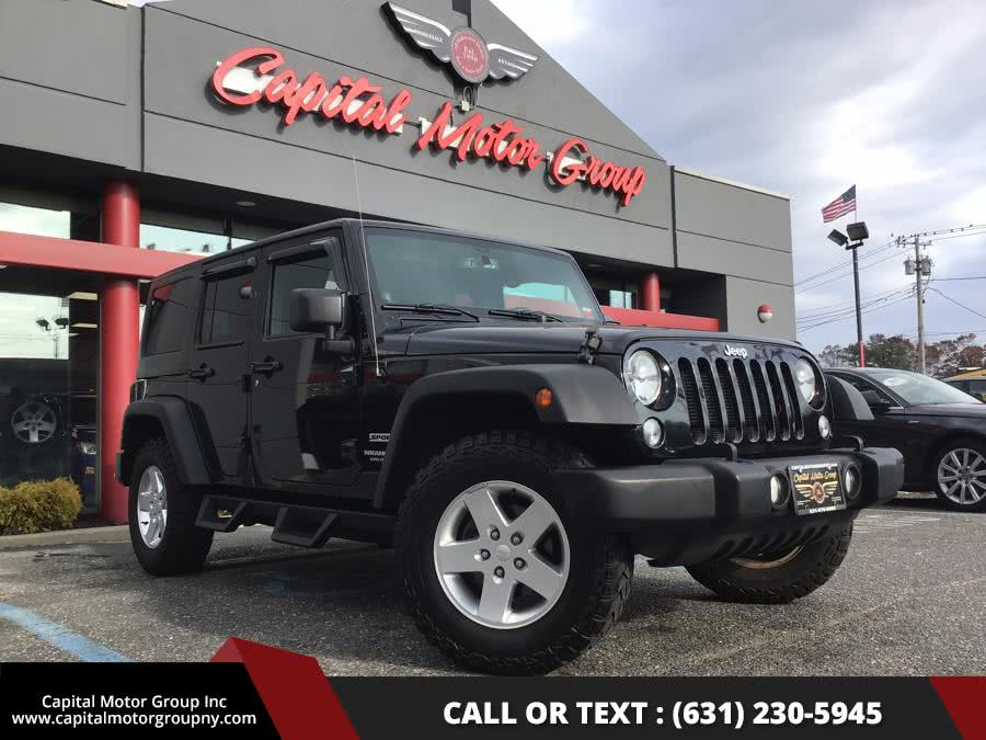 Used 2014 Jeep Wrangler Unlimited in Medford, New York | Capital Motor Group Inc. Medford, New York