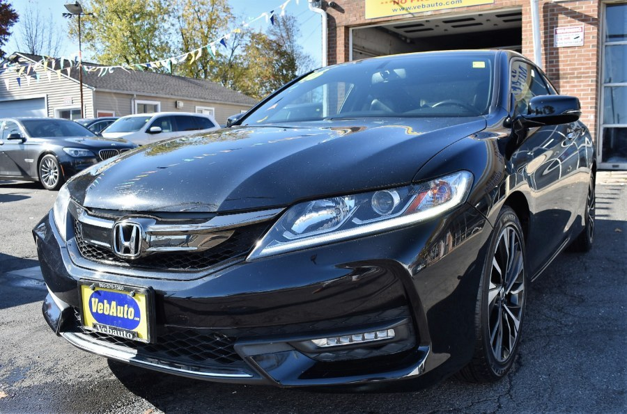 2016 Honda Accord Coupe 2dr V6 Auto EX-L, available for sale in Hartford, Connecticut | VEB Auto Sales. Hartford, Connecticut