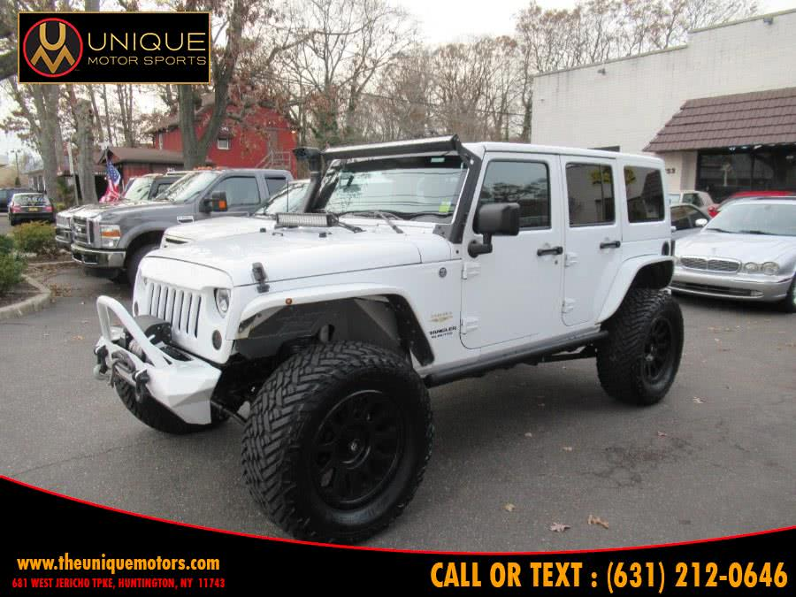 Used Jeep Wrangler Unlimited 4WD 4dr Altitude 2015 | Unique Motor Sports. Huntington, New York