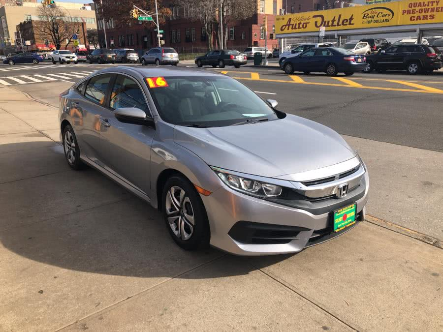 Used 2016 Honda Civic Sedan in Jamaica, New York | Sylhet Motors Inc.. Jamaica, New York