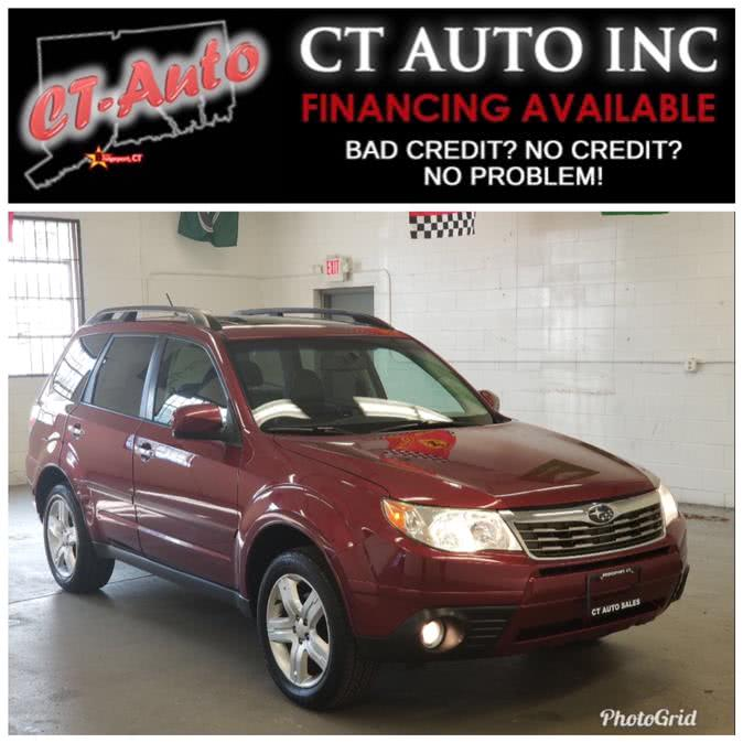 Used Subaru Forester 4dr Auto X Limited PZEV 2009 | CT Auto. Bridgeport, Connecticut