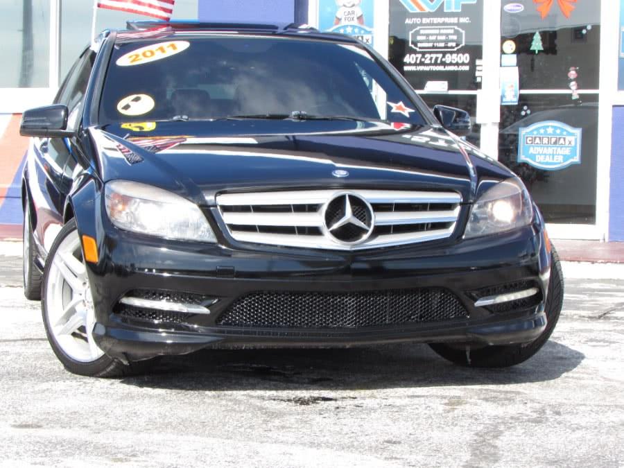Used Mercedes-Benz C-Class 4dr Sdn C 350 Sport RWD 2011 | VIP Auto Enterprise, Inc. Orlando, Florida