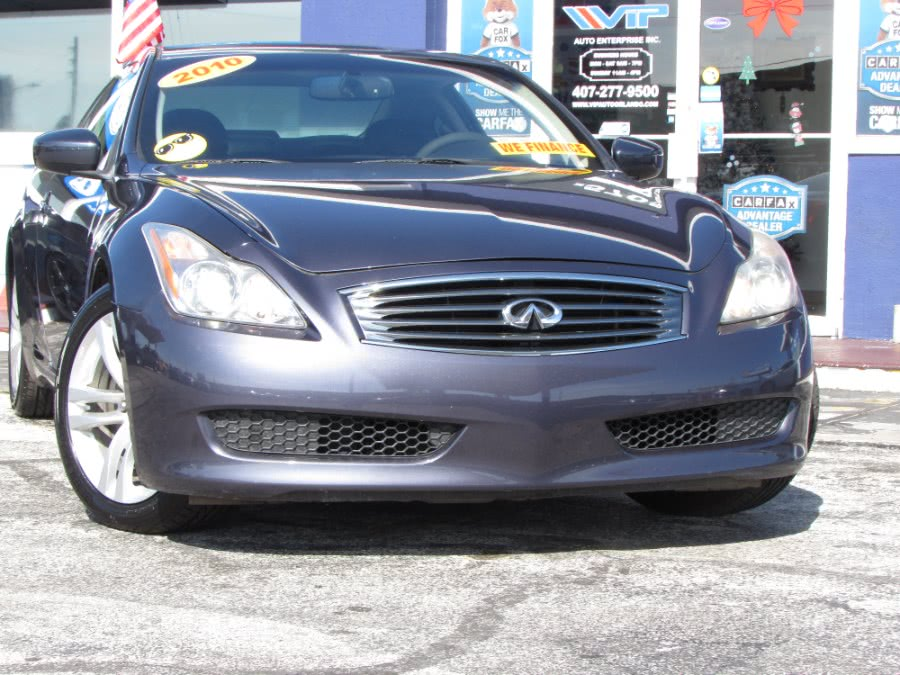 Used INFINITI G37 Coupe 2dr Journey RWD 2010 | VIP Auto Enterprise, Inc. Orlando, Florida
