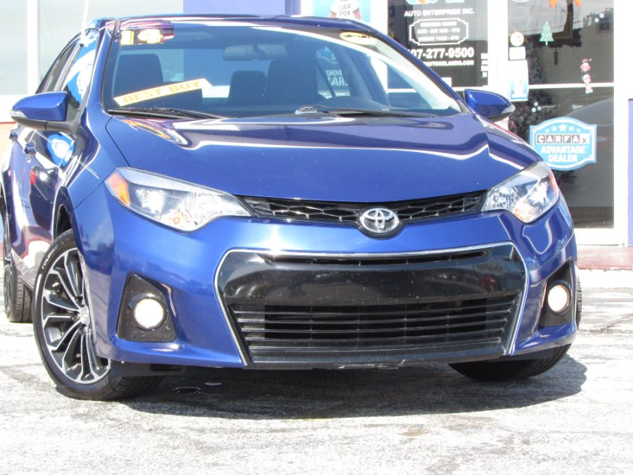Used Toyota Corolla 4dr Sdn CVT S (Natl) 2014 | VIP Auto Enterprise, Inc. Orlando, Florida