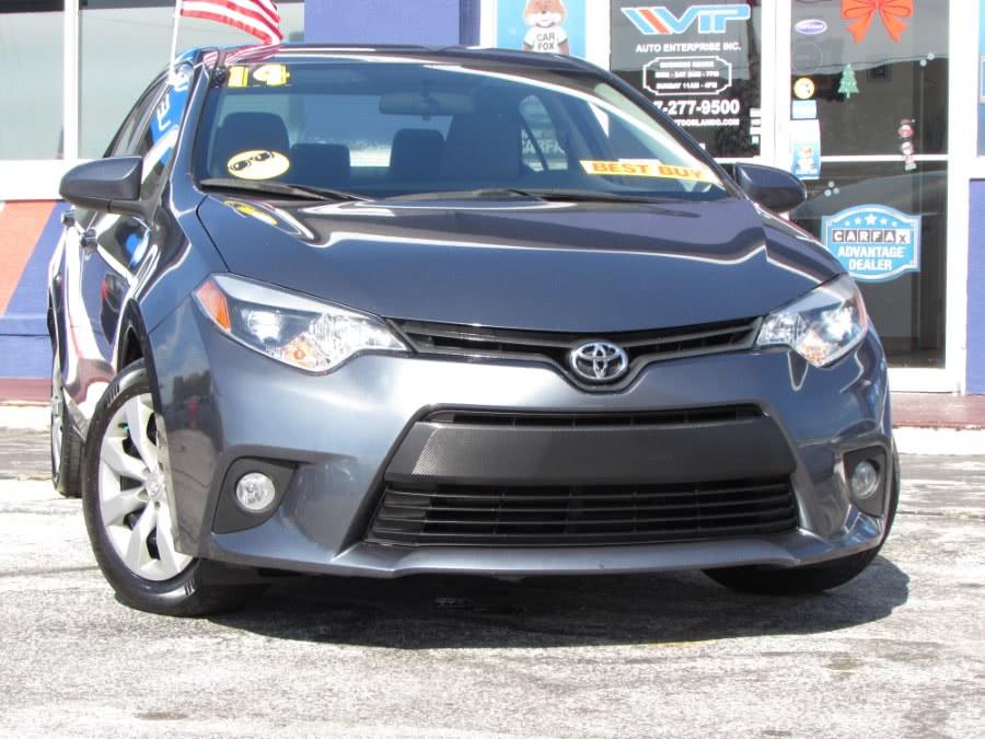 Used Toyota Corolla 4dr Sdn CVT LE (Natl) 2014 | VIP Auto Enterprise, Inc. Orlando, Florida