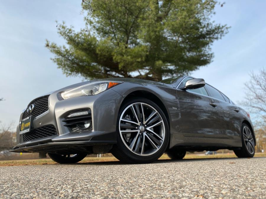 2016 INFINITI Q50 4dr Sdn 3.0t Sport AWD, available for sale in Franklin Square, New York | Luxury Motor Club. Franklin Square, New York