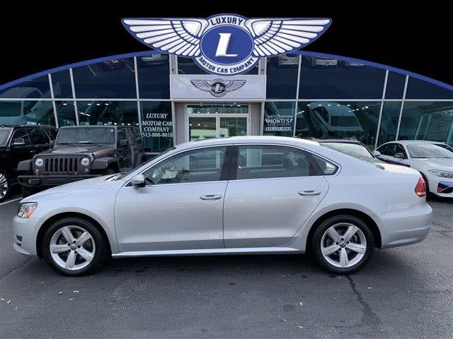 Used 2012 Volkswagen Passat in Cincinnati, Ohio | Luxury Motor Car Company. Cincinnati, Ohio