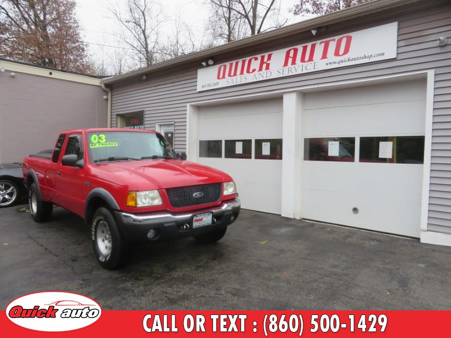 Used Ford Ranger 4dr Supercb 4.0L XLT FX4 Lvl II 4WD 2003 | Quick Auto LLC. Bristol, Connecticut
