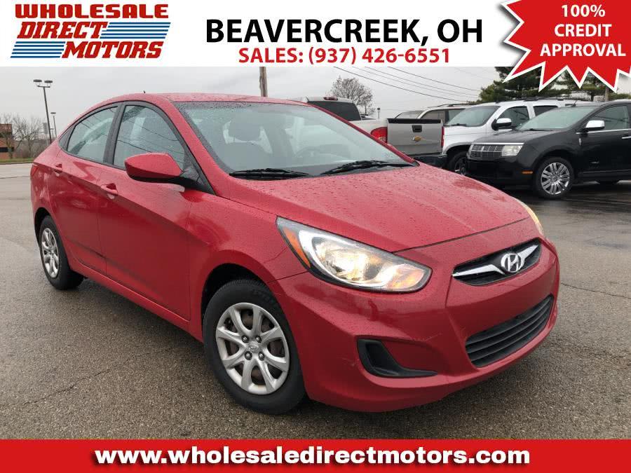 Used Hyundai Accent 4dr Sdn Auto GLS 2012 | Wholesale Direct Motors. Beavercreek, Ohio