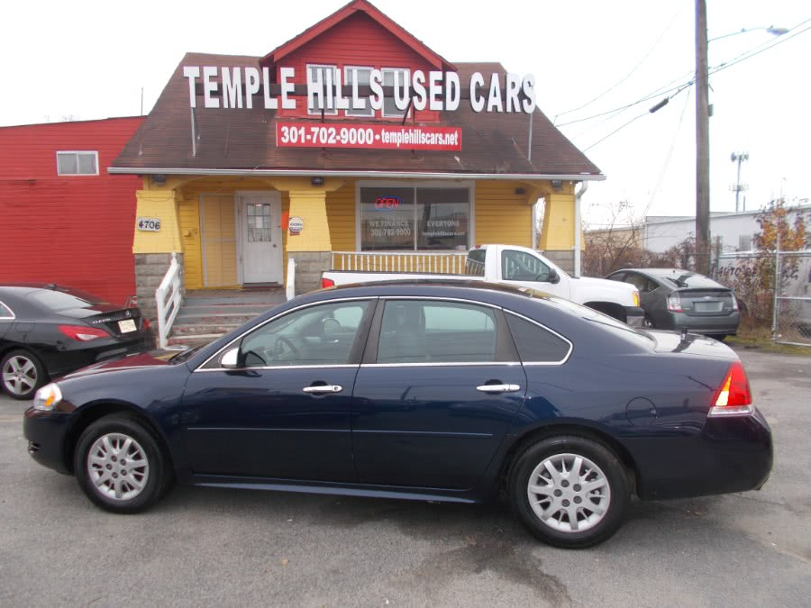 Used 2011 Chevrolet Impala Police in Temple Hills, Maryland | Temple Hills Used Car. Temple Hills, Maryland