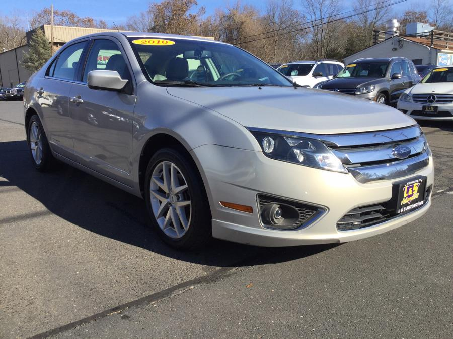 2010 Ford Fusion 4dr Sdn SEL FWD, available for sale in Plantsville, Connecticut | L&S Automotive LLC. Plantsville, Connecticut