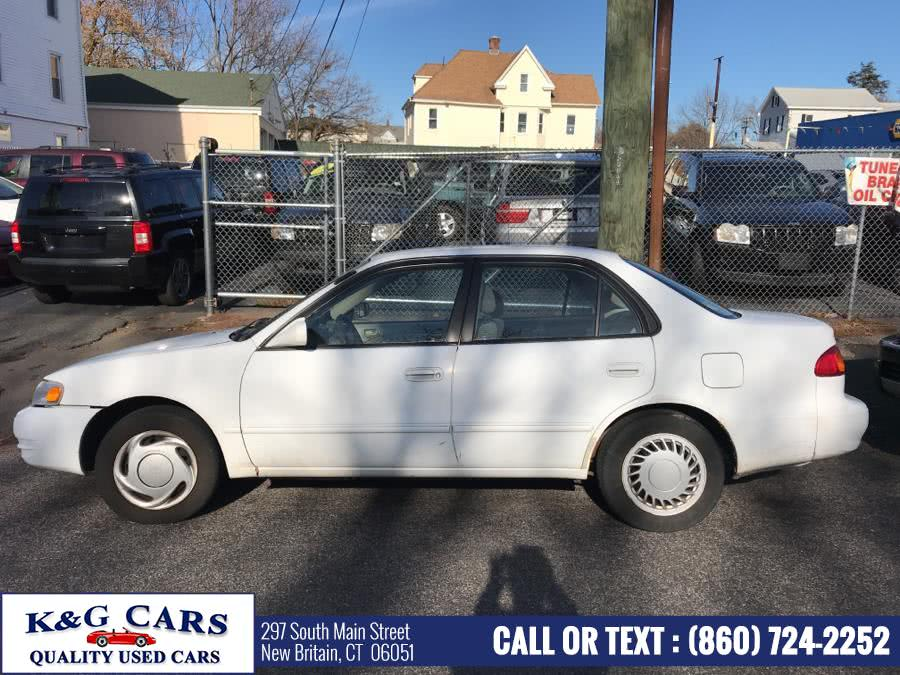 Used Toyota Corolla 4dr Sdn CE Auto 1998 | K and G Cars . New Britain, Connecticut