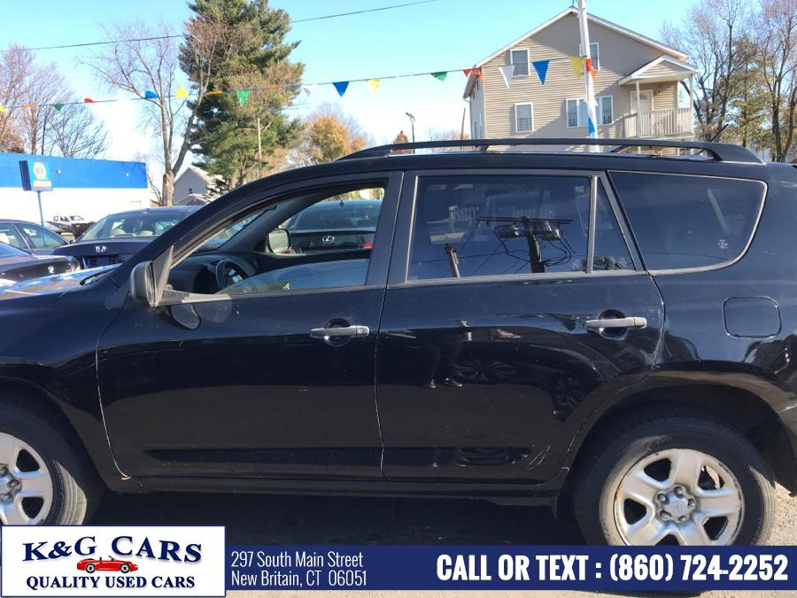 Used Toyota RAV4 4WD 4dr 4-cyl 4-Spd AT 2010 | K and G Cars . New Britain, Connecticut