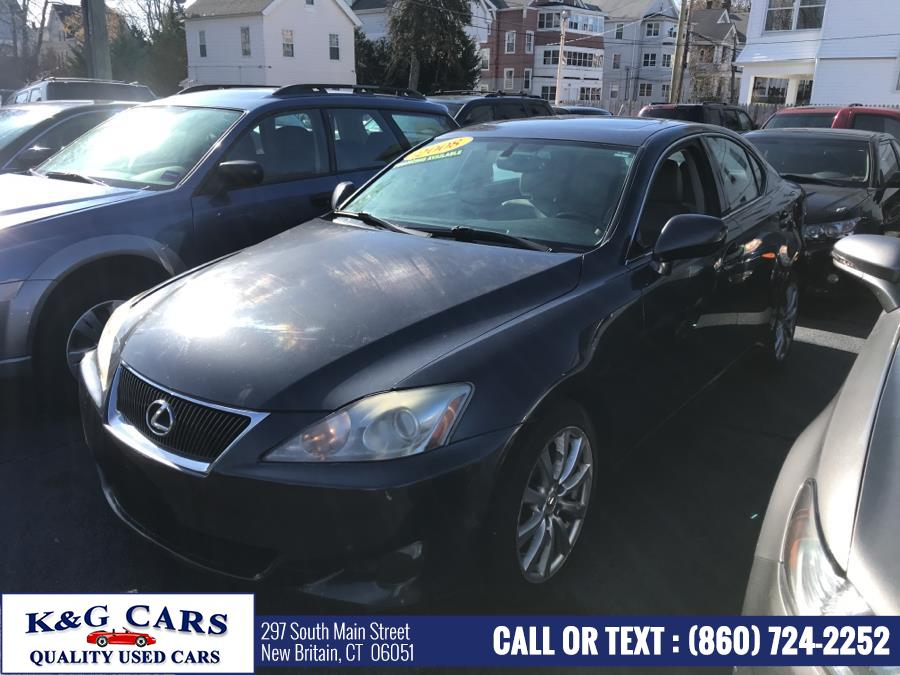 Used Lexus IS 250 4dr Sport Sdn Auto AWD 2008 | K and G Cars . New Britain, Connecticut