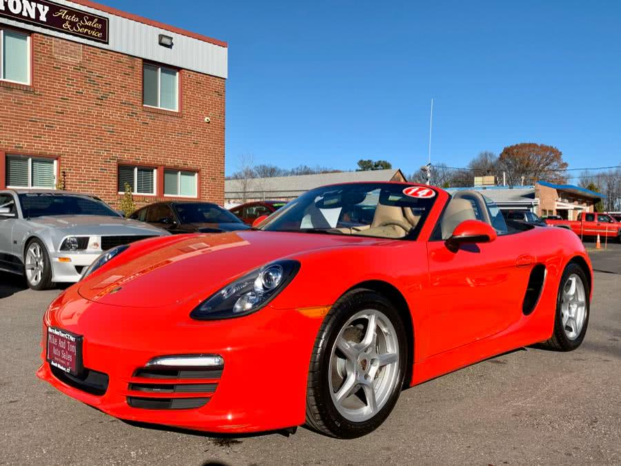 Used Porsche Boxster 2dr Roadster 2014 | Mike And Tony Auto Sales, Inc. South Windsor, Connecticut