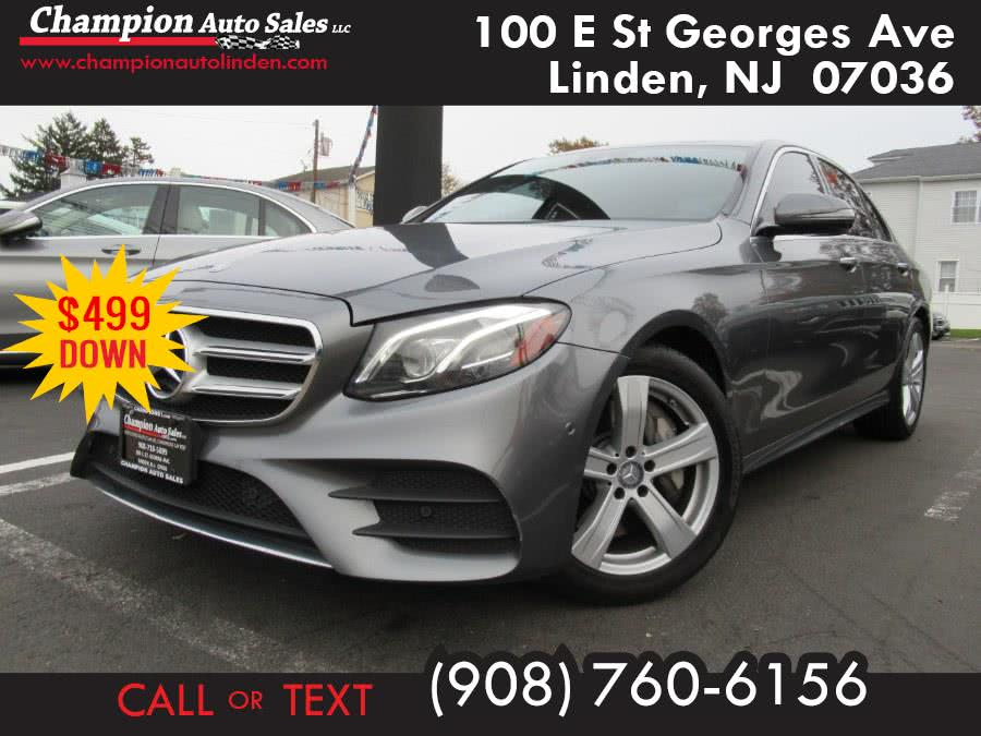 Used 2017 Mercedes-Benz E-Class in Linden, New Jersey | Champion Used Auto Sales. Linden, New Jersey