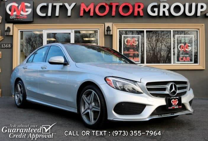 Used 2015 Mercedes-benz C-class in Haskell, New Jersey | City Motor Group Inc.. Haskell, New Jersey