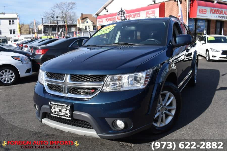 Used Dodge Journey FWD 4dr SXT 2015 | Foreign Auto Imports. Irvington, New Jersey