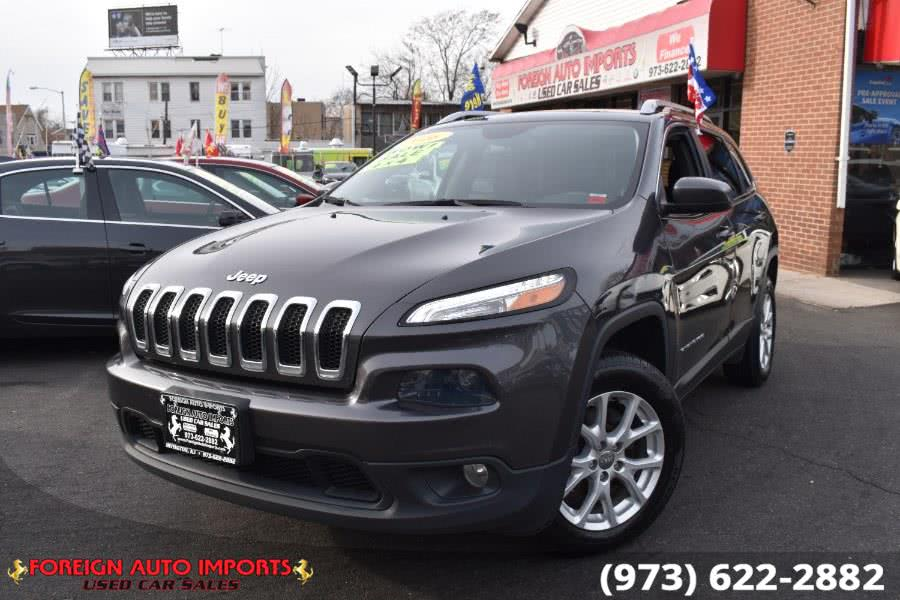 Used 2016 Jeep Cherokee in Irvington, New Jersey | Foreign Auto Imports. Irvington, New Jersey