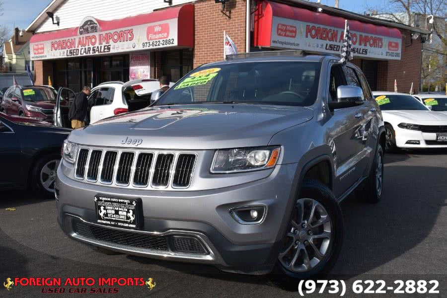 Used 2016 Jeep Grand Cherokee in Irvington, New Jersey | Foreign Auto Imports. Irvington, New Jersey