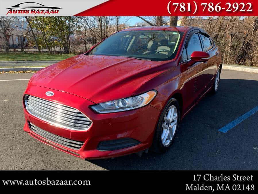 Used Ford Fusion 4dr Sdn SE FWD 2015 | Auto Bazaar. Malden, Massachusetts
