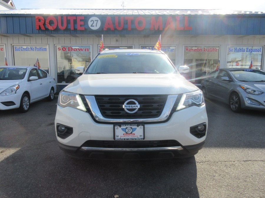 2017 Nissan Pathfinder FWD SV, available for sale in Linden, New Jersey | Route 27 Auto Mall. Linden, New Jersey