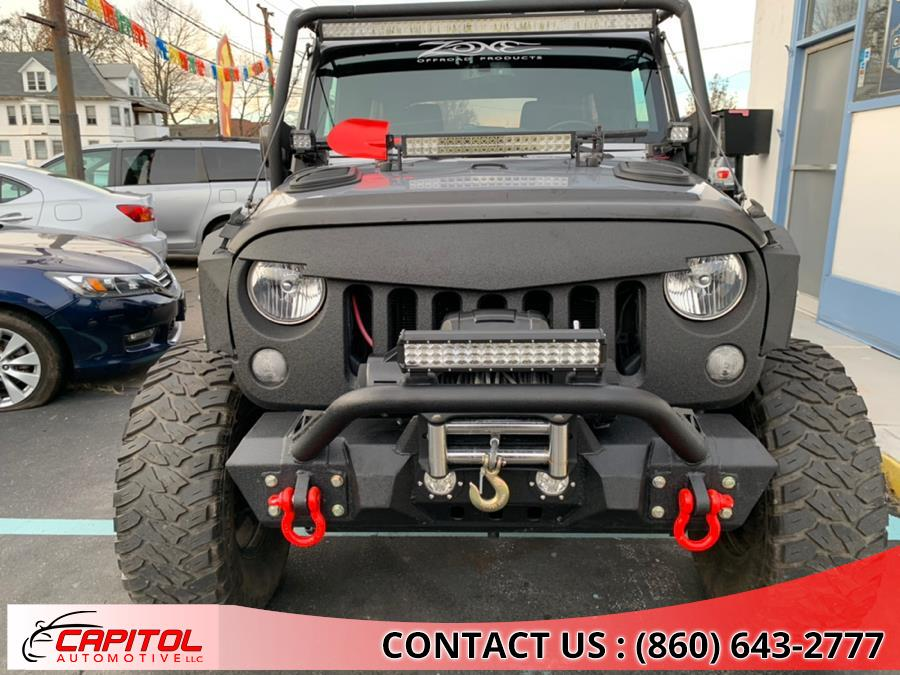 2016 Jeep Wrangler Unlimited 4WD 4dr Sport, available for sale in Manchester, Connecticut | Capitol Automotive 2 LLC. Manchester, Connecticut