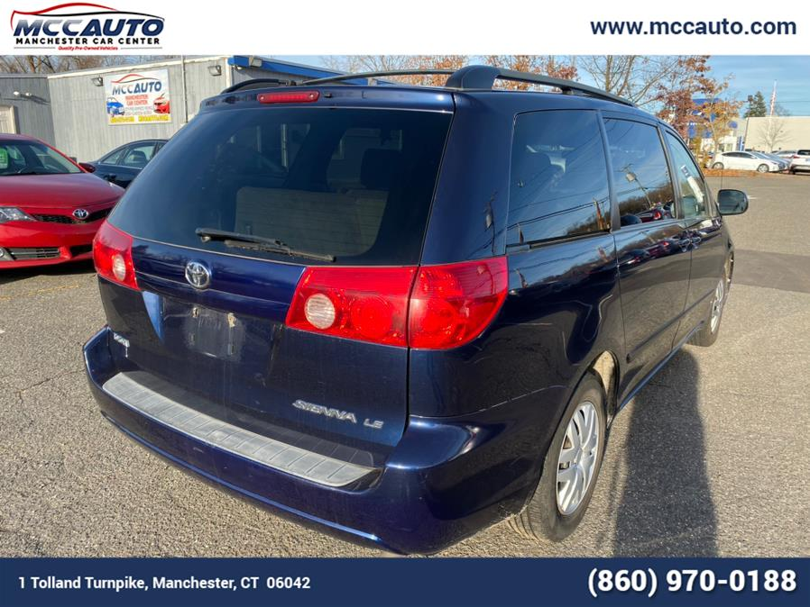 2006 Toyota Sienna 5dr LE FWD 8-Passenger, available for sale in Manchester, Connecticut | Manchester Car Center. Manchester, Connecticut