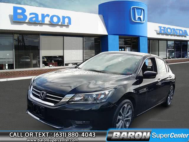 Used 2015 Honda Accord Sedan in Patchogue, New York | Baron Supercenter. Patchogue, New York