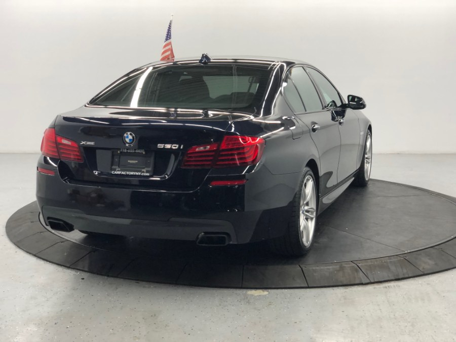 2016 BMW 5 Series 4dr Sdn 550i xDrive AWD, available for sale in Bronx, New York | Car Factory Inc.. Bronx, New York