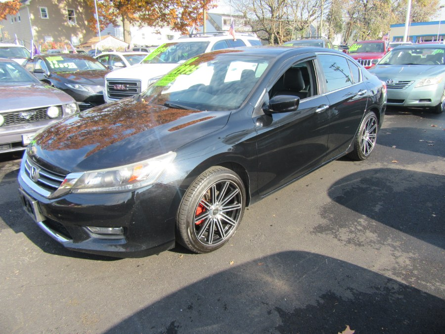 2014 Honda Accord Sedan 4dr I4 CVT Sport PZEV, available for sale in Little Ferry, New Jersey | Royalty Auto Sales. Little Ferry, New Jersey