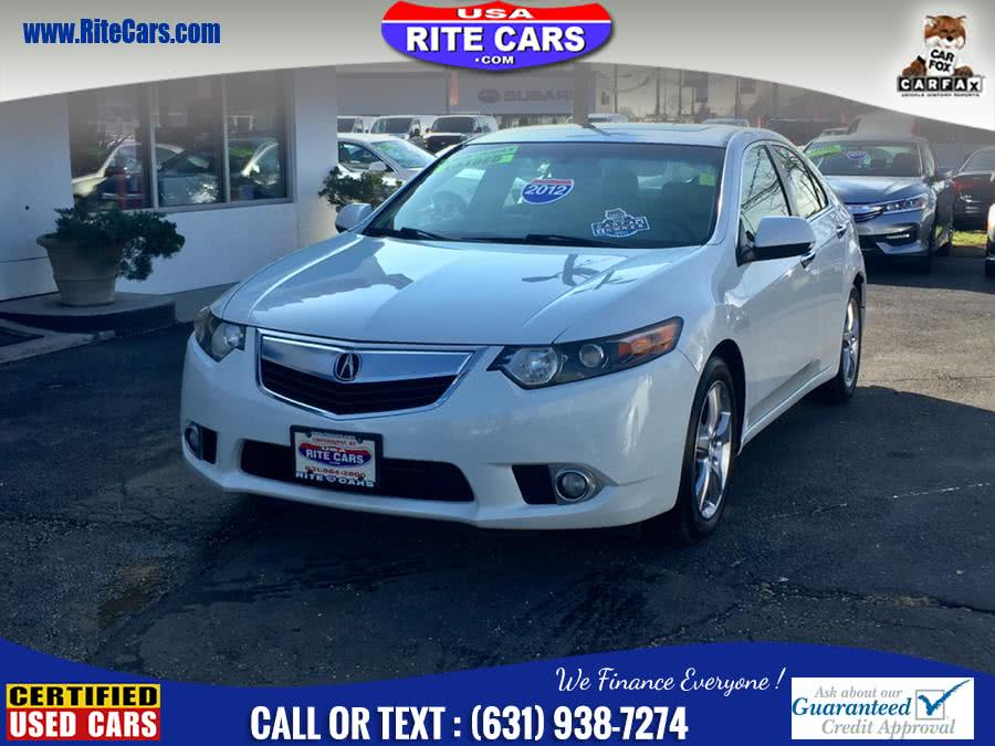 Used Acura TSX 4dr Sdn I4 Auto W/ Sport Paddle Shifters 2012 | Rite Cars, Inc. Lindenhurst, New York