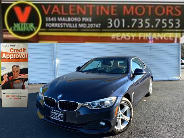 Used 2015 BMW 4 Series in Forestville, Maryland | Valentine Motor Company. Forestville, Maryland