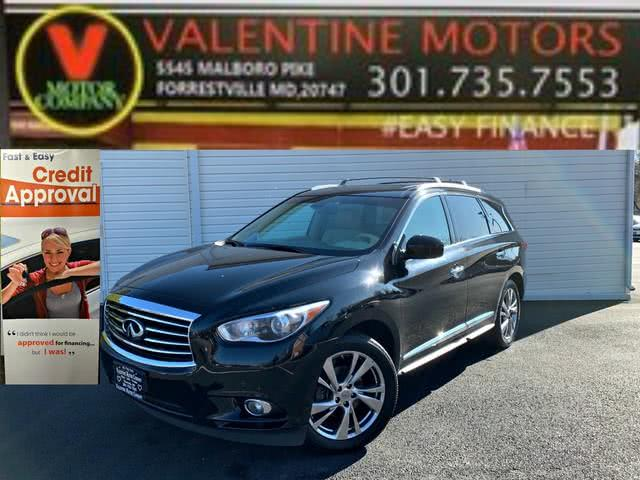 Used 2013 Infiniti Jx35 in Forestville, Maryland | Valentine Motor Company. Forestville, Maryland