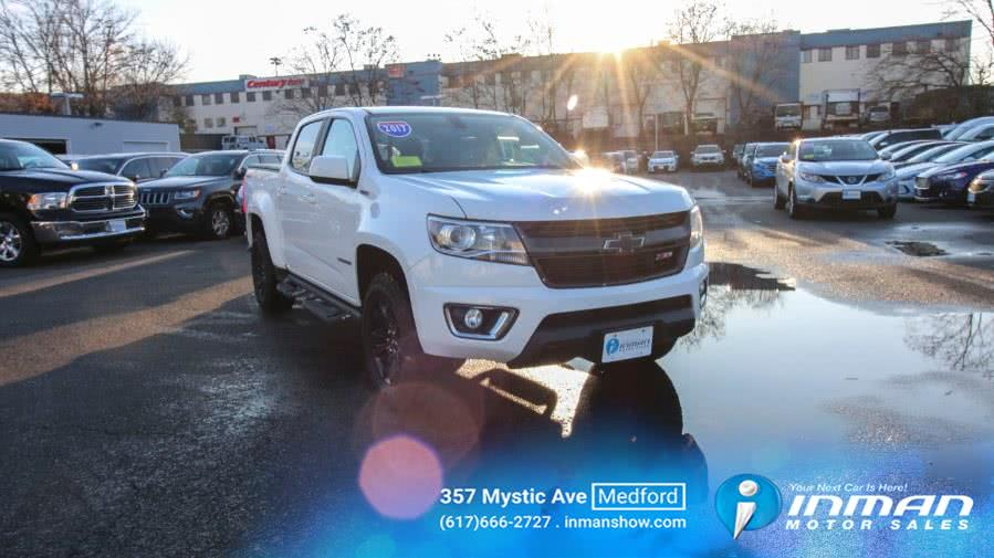 Used 2017 Chevrolet Colorado in Medford, Massachusetts | Inman Motors Sales. Medford, Massachusetts