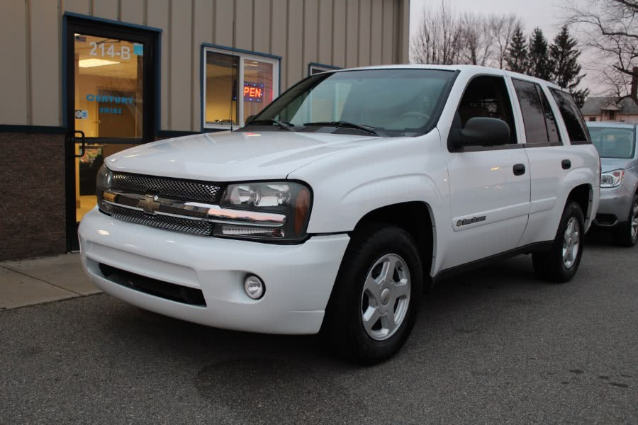 Used 2002 Chevrolet TrailBlazer in East Windsor, Connecticut | Century Auto And Truck. East Windsor, Connecticut