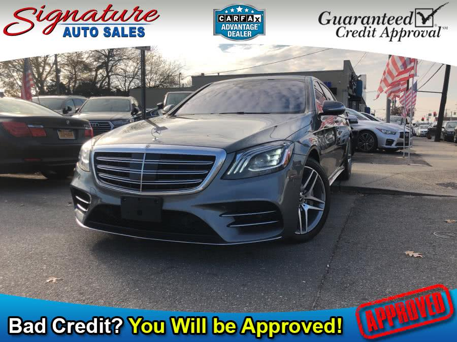 Used 2018 Mercedes-Benz S-Class in Franklin Square, New York | Signature Auto Sales. Franklin Square, New York