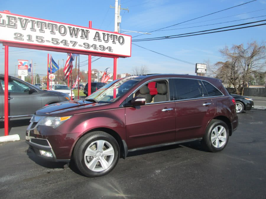 Used 2010 Acura MDX in Levittown, Pennsylvania | Levittown Auto. Levittown, Pennsylvania